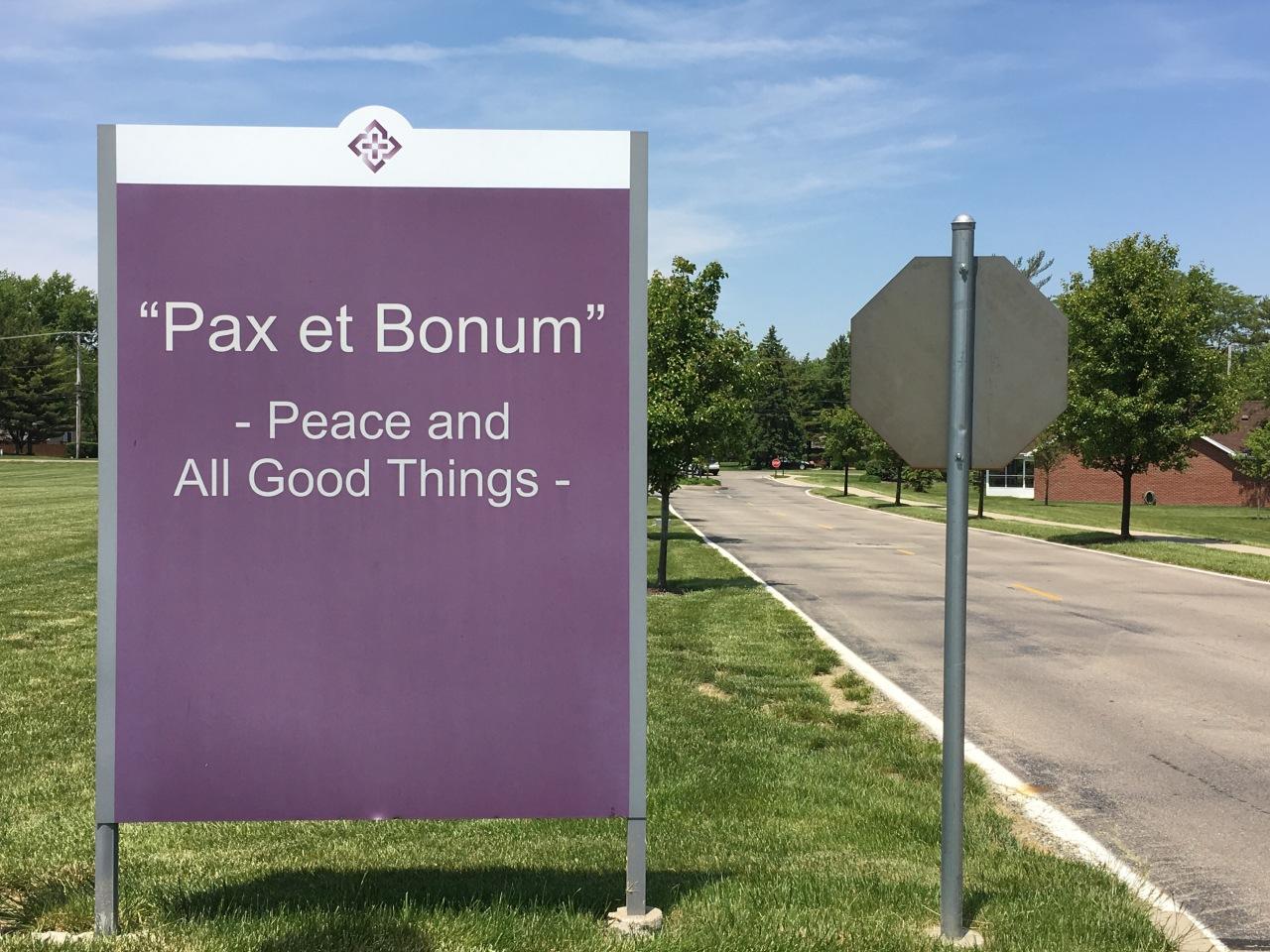 Imago Scriptura 54 – Pax etBonum