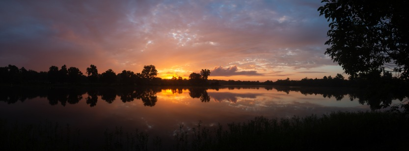 2018-07-05 - Sunrise at Silver Lake Virginia-1